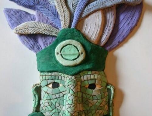 ¿Cómo hacemos una máscara maya en Pimpleia?