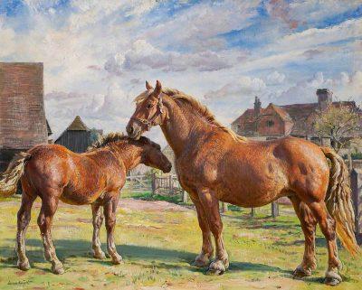 Dame Laura Knight, DBE, RA RWS (1877-1970)